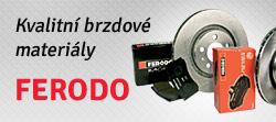 Kvalitní brzdové materiály FERODO